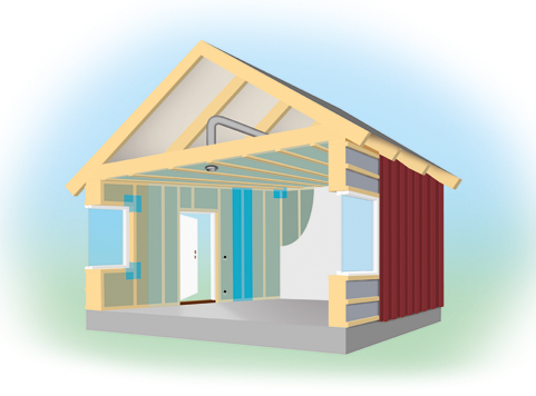 PAROC® Conci™- airtightness in energy efficient building solutions