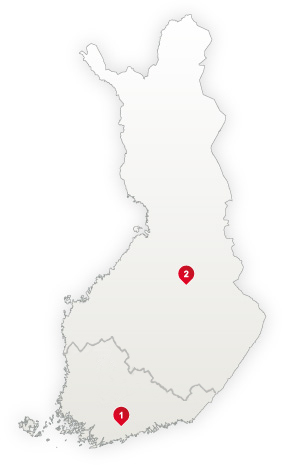 Acoustics Sales Areas in Finland