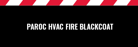 PAROC Hvac Fire BlackCoat paloeristeet